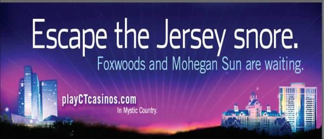 Escape the Jersey snore Billboard