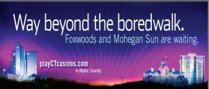 Way beyond the boredwalk Billboard