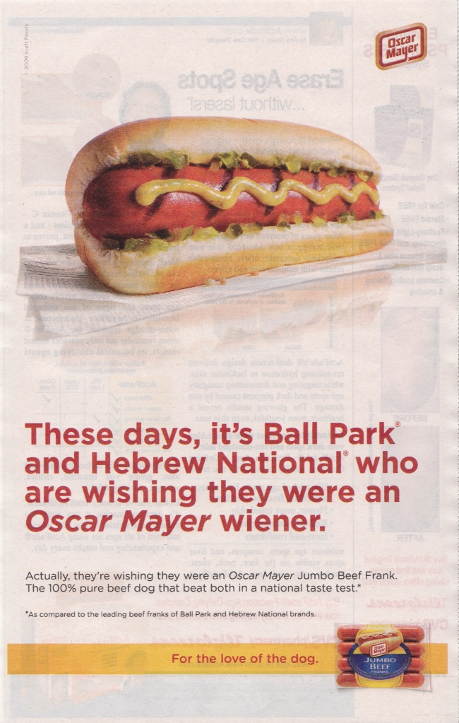 Hot Dog Ad