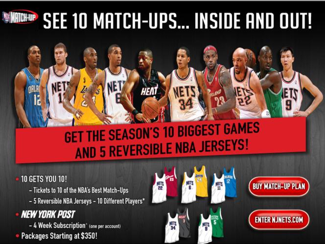 NJ Nets Promotion