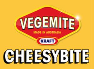 Vegemite Cheesybite Logo