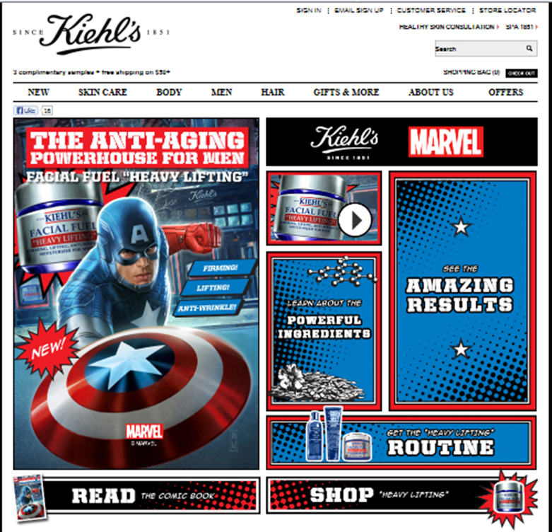 kiehls brand development Kiehl's is an american cosmetics brand kiehl's artfully made campaign the artfully made campaign conveys kiehl's dedication to the art of developing.