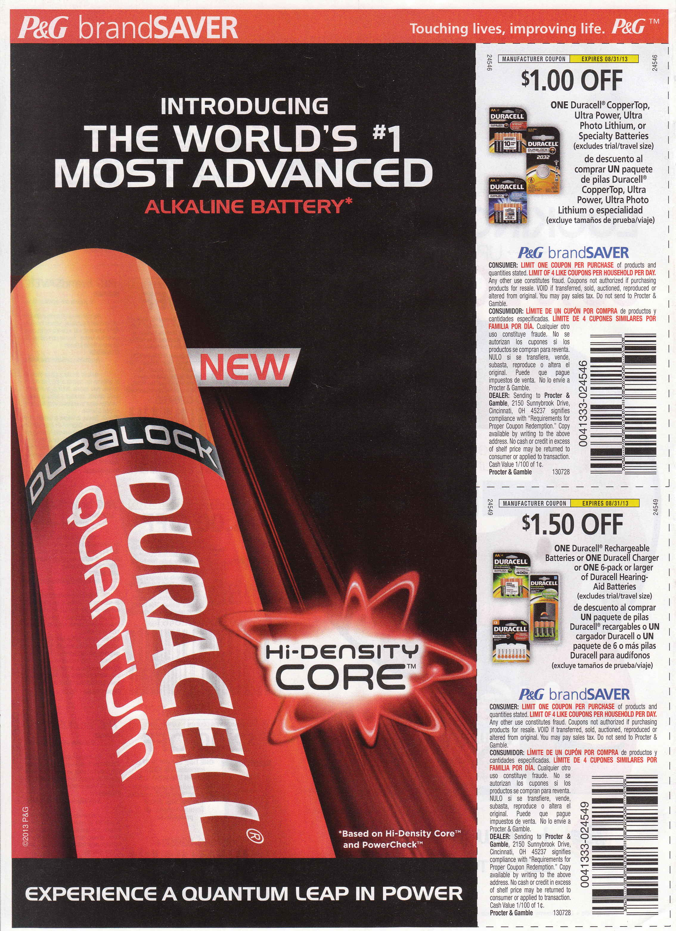 P&G Battery Marketing. Does Duracell's Quantum Have the