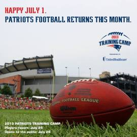 Photo: New England Patriots Facebook.