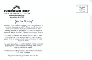 Sundown One - Card Back