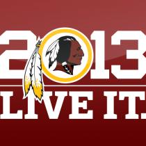 Poster. Washington Redskins Facebook.