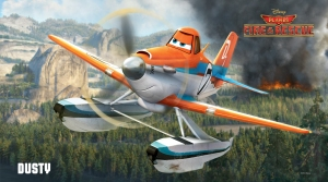 Dusty Crophopper - Planes: Fire & Rescue. Credit: http://movies.disney.com/planes-fire-and-rescue