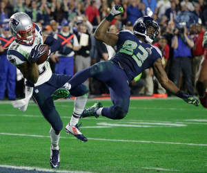 Malcolm Butler wins Super Bowl XLIX for the New England Patriots. Credit: New England Patriots.