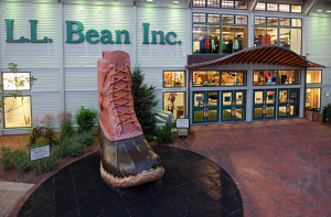 L.L. Bean store in Freeport, ME. Credit: L.L. Bean.