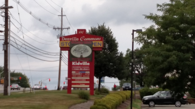 Denville Commons shopping center - Denville, NJ. August 10, 2015. Credit: Harvey Chimoff.