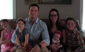 Steve Weatherford New York Giants Farewell. Credit: screen-grab from YouTube video.