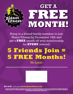 Planet Fitness - Get A Free Month - 2