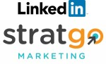 LinkedIn and StratGo Logo Graphic